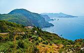 The coastline of Lipari — Stock Photo