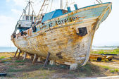 The old ship — Stock Photo