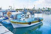 The fishing harbor — Stock Photo