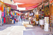The colorful stalls — Stock Photo