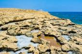 острые скалы — Стоковое фото