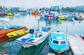 The harbor of Ayia Napa — Stock Photo