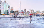 The Taksim Square — Stock Photo