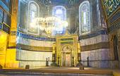 The apse of Hagia Sophia — Stock Photo