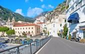 Walking in Amalfi — Stock Photo
