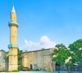 The high minaret — Stock Photo