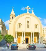 The Coptic Cathedral — Stock Photo
