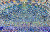 The blue tiles — Stock Photo