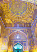 The golden mosque — Stock Photo