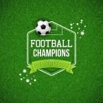 Soccer football poster. — Stock Vector #57022123