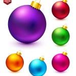 Set of Christmas balls. — Stock Vector #57023015
