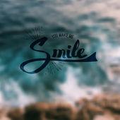You Make Me Smile — Stock Vector