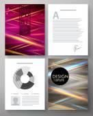 Vector corporate design template — Stock Vector
