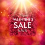 Dynamic Happy Valentines Sale design — Stock Vector #63520493
