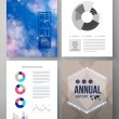Corporate Annual report vector template — Stock Vector #66967671