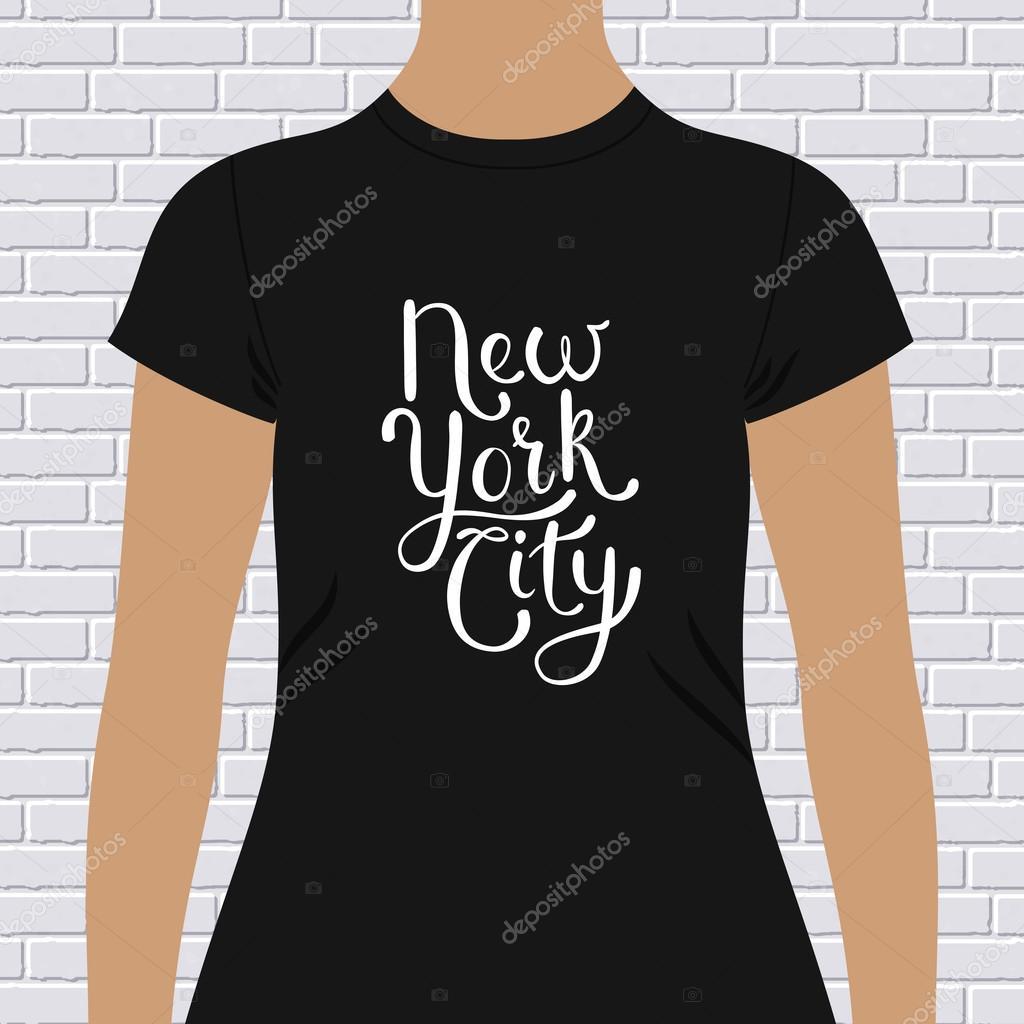 Design a t shirt nyc - New York City T Shirt Design Stock Vector 67273665