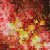 Retro geometric background. — Stock Vector