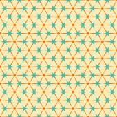 Abstract retro geometric seamless pattern — Stock Vector