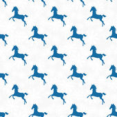 Snowflake seamless pattern.Triangle horse. — Stock Vector