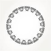 Abstract ornamental circle — Stock Vector