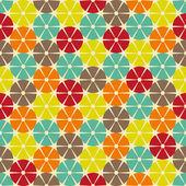 Abstract retro geometric seamless pattern. — Stock Vector