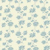 Seamless vintage wallpaper pattern. — Stock Vector