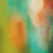 Geometric background. Multicolored triangles — Stok Vektör