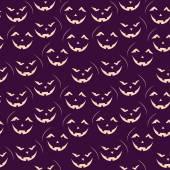 Halloween seamless patterns. — Stock Vector