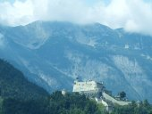 Ancient Burg Hohenwerfen, Salzburgerland — Stock Photo
