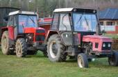 Old Czech Zetor tractors — Stock Photo