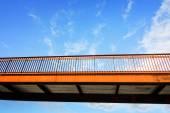 Pedestrian overpass — Stock Photo