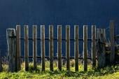 Gesloten poort — Stockfoto