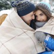 Winter holiday with my big love — Stock Photo #56036251