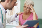 Serious problems with health — Stock Photo
