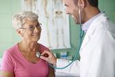 Good visit to a doctor — Zdjęcie stockowe