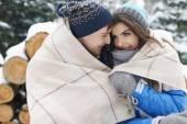 私の大きい愛の冬季休暇 — ストック写真