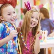 Girls at birthday party — Stock Photo #68904375