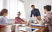 Creativity team working together — Stock Photo