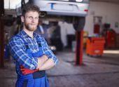Best car mechanic — Stock Photo