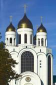 Cathedral of Christ the Savior. Kaliningrad, Russia — Stockfoto