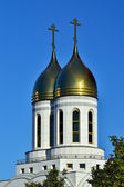 Chapel of St. Peter and Fevronia.  Kaliningrad, Russia — Stock Photo