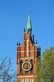 Church of the Holy family. Kaliningrad (until 1946 Koenigsberg), — Stock Photo