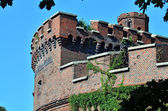 Wrangel Tower - fortification of Koenigsberg. Kaliningrad, Russia — Stock Photo