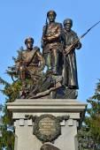 Памятник героям Первой мировой войны. Калининград (бывший koeni — Стоковое фото