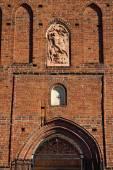 Church of St. George (Kirche Friedland). Pravdinsk (before 1946 Friedland), Kaliningrad oblast, Russia — Stock Photo