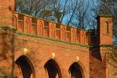 Rossgarten Gate - fort of Koenigsberg. Kaliningrad (former Konigsberg), Russia — Stock Photo