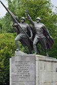 Sculpture Victory. Monument to 1200 guardsmen, Kaliningrad, Russia — Stock Photo