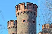 Tower Friedrichsburg gate. Kaliningrad (formerly Koenigsberg), R — Stock Photo