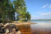 Lake Engozero, North Karelia, Russia — Stock Photo