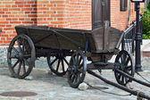 Antique German cart — Stock Photo
